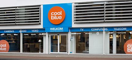 Winkels, coolblue - alles voor een glimlach