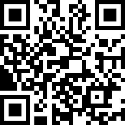 QR code of the App Store link